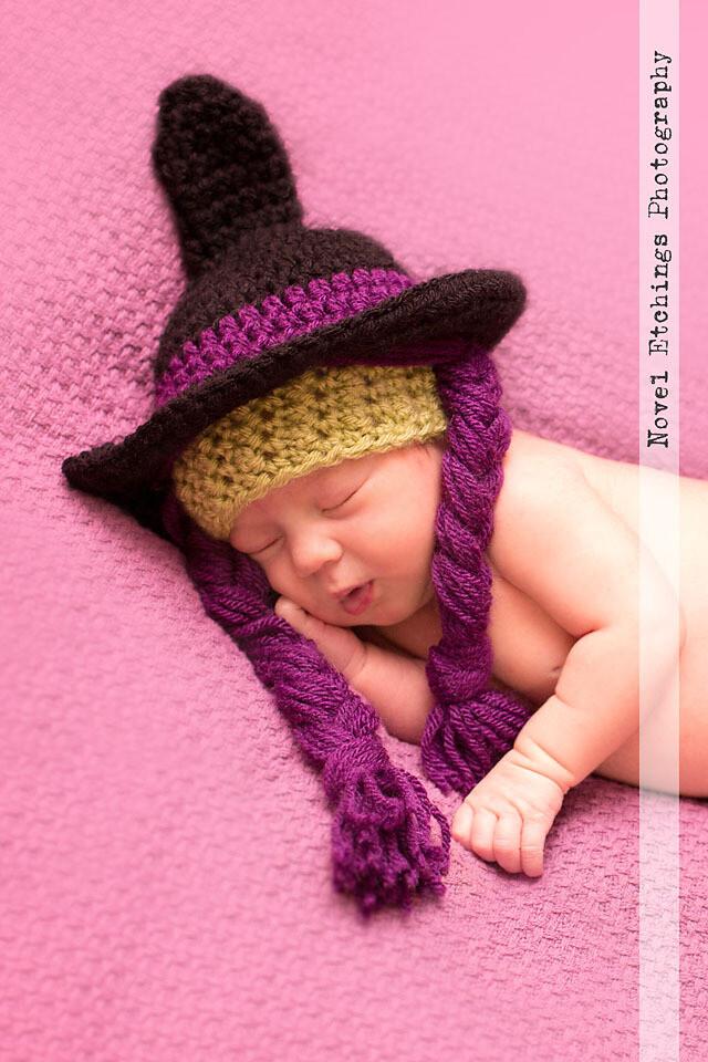 Cutest Witch Beanie Crochet Pattern