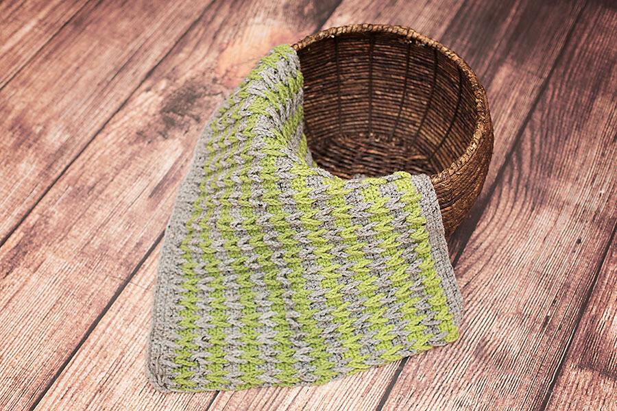 Double Dutch Blanket Crochet Pattern