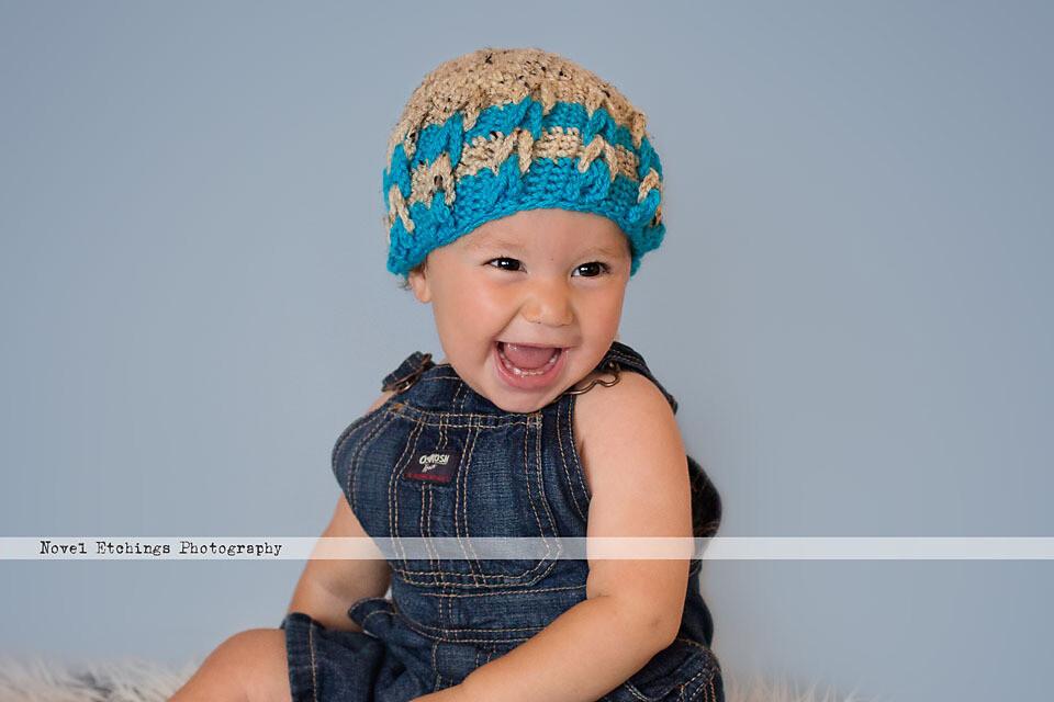 Double Dutch Beanie Crochet Pattern