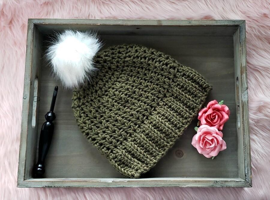 Gruene Beanie Crochet Pattern