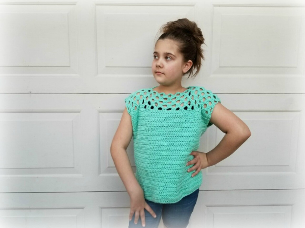 Honeycomb Tee Crochet Pattern