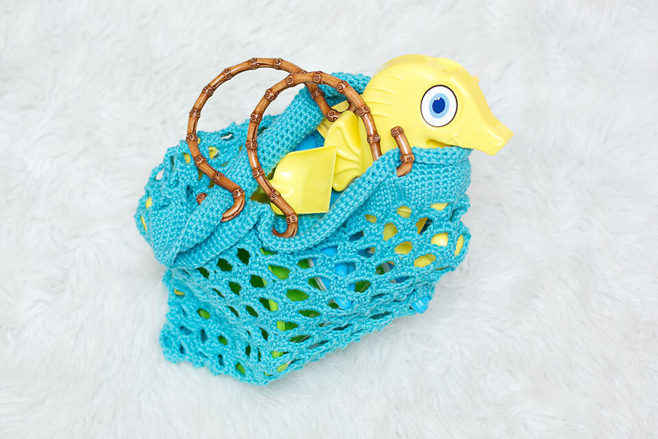 Honeycomb Beach Bag Crochet Pattern