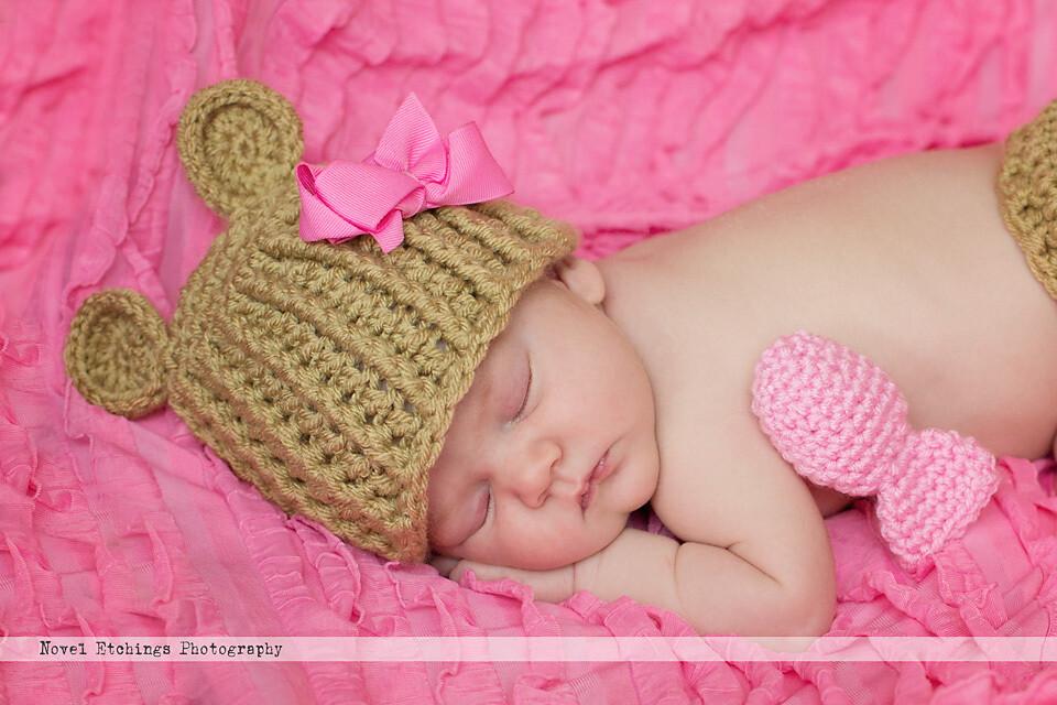 Hope Bear Beanie Crochet Pattern