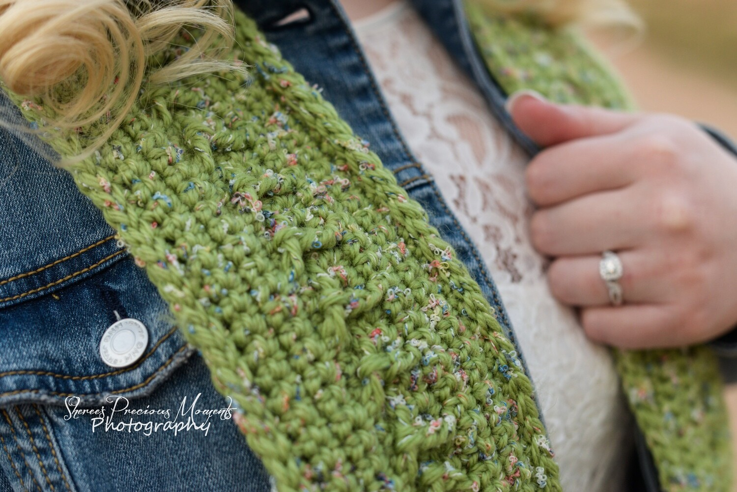 Limelight Beanie and Scarf Crochet Pattern