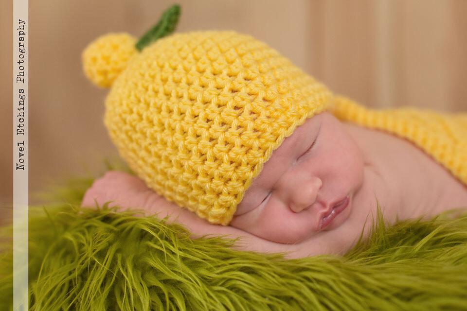 Lemon Beanie Crochet Pattern