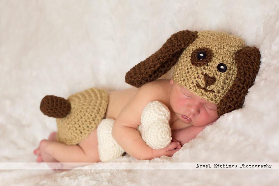 Puppy Baby Crochet Pattern