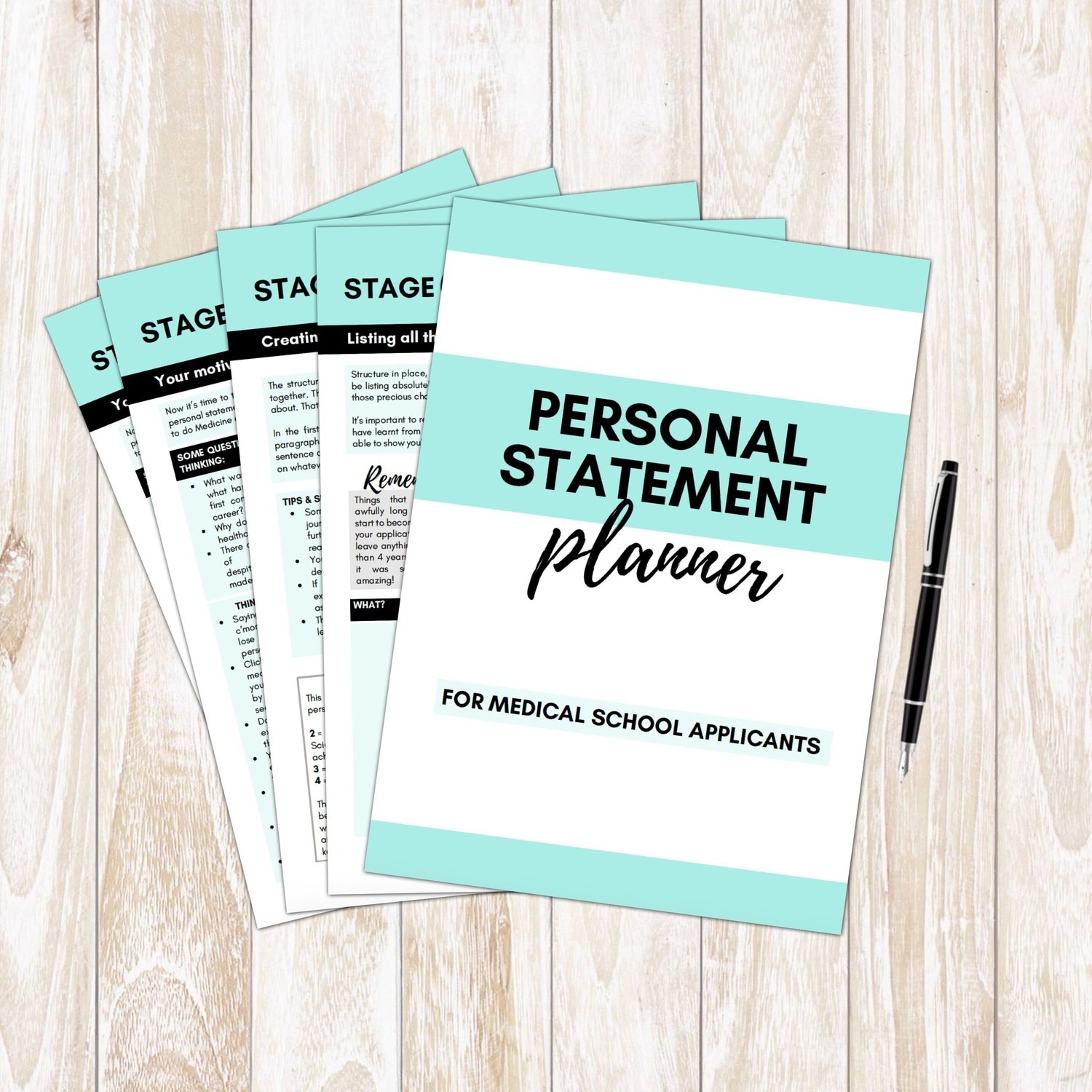 Medicine Personal Statement Planner | Writing Guide + Structure