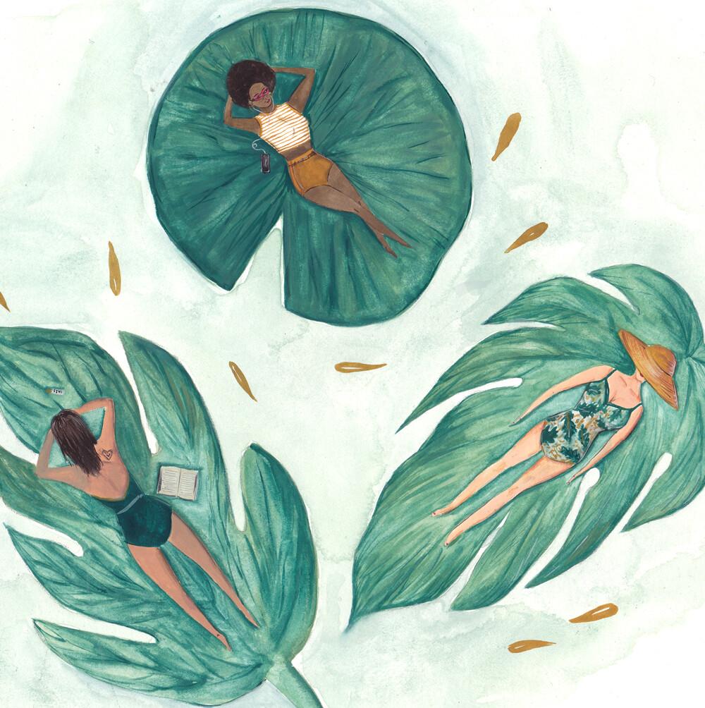 Botanical Holiday Art Print