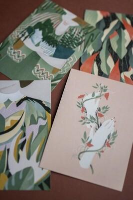 Botanical Love Notecard Set