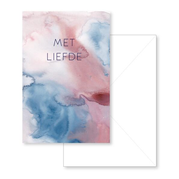 Met liefde Greeting Card