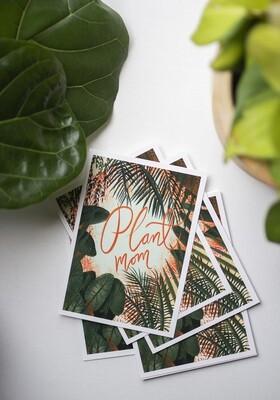 Plant Mom Notecard