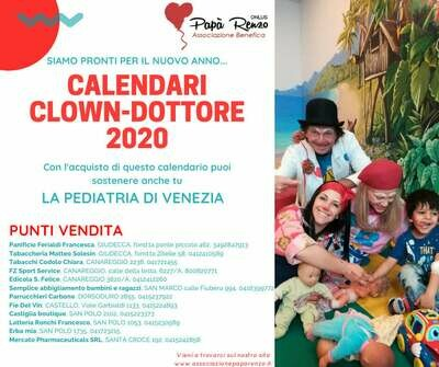 Calendario CLOWN-Dottori 2020