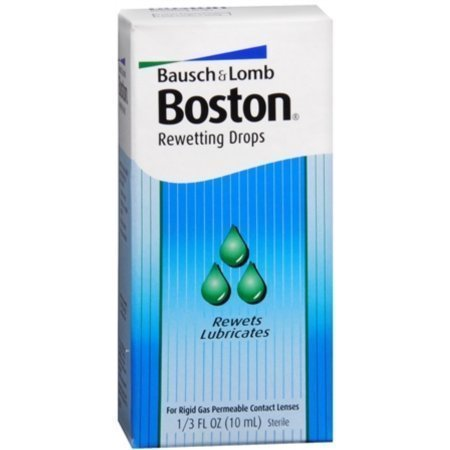 Bausch & Lomb Boston Rewetting Drops 10 ML