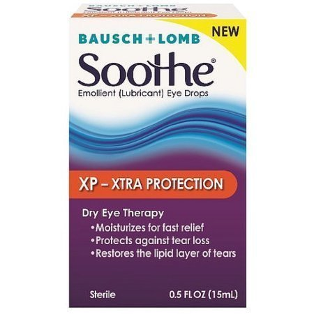 Bausch & Lomb Soothe XP Emollient Lubricant Eye Drops 0.50 oz