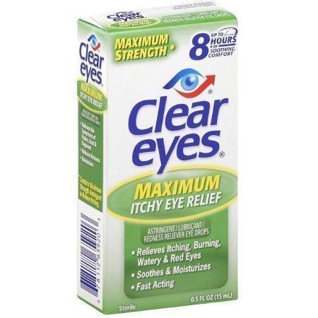 Clear Eyes Maximum Itchy Eye Relief 0.50 oz