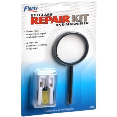 Flents Eyeglass Repair Kit and Magnifier 1 Each