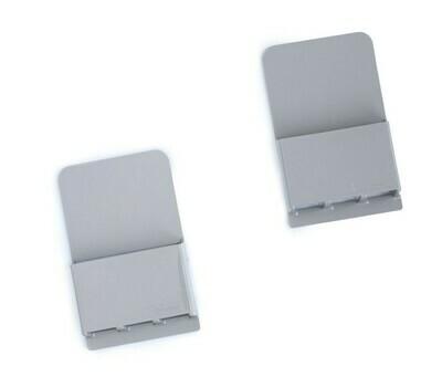 Wallabox® New Design!  2-Pack Set: Steel Gray