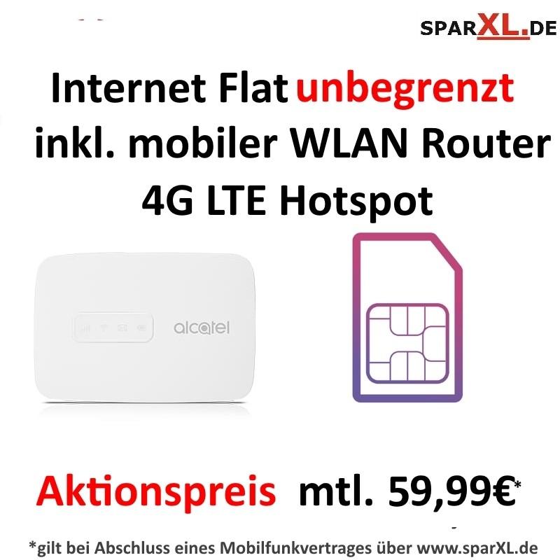 Mobile Internet Flat unbegrenzt