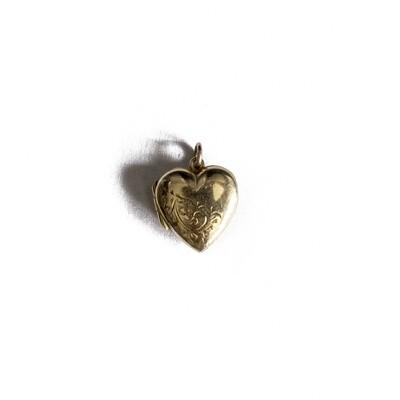 Circa 1950 Small Heart Locket