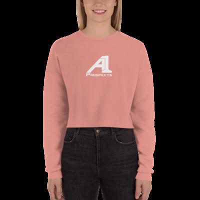 A1 Prospects Mauve Crop Sweatshirt