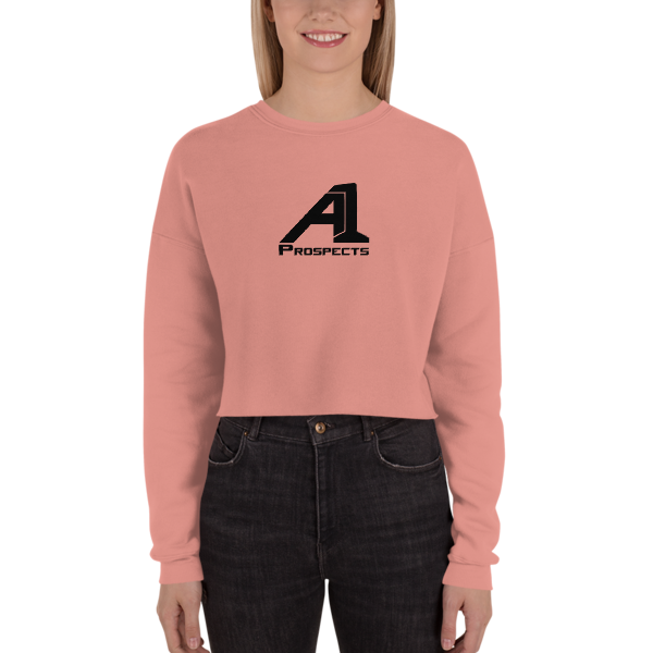 A1 Prospects Mauve Crop Sweatshirt (b)