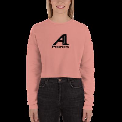 A1 Prospects Mauve Crop Sweatshirt (b)