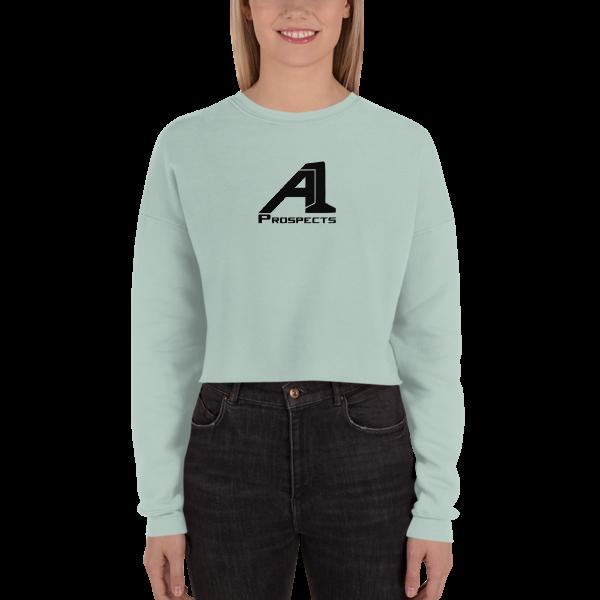 A1 Prospects Dusty Blue Crop Sweatshirt (b)