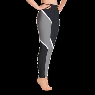 A1P Black/Gray Yoga Leggings