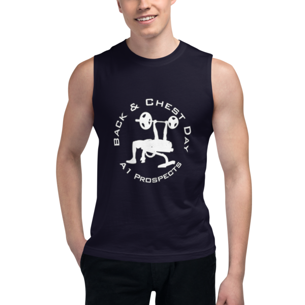Chest Day Bench A1P Muscle Shirt