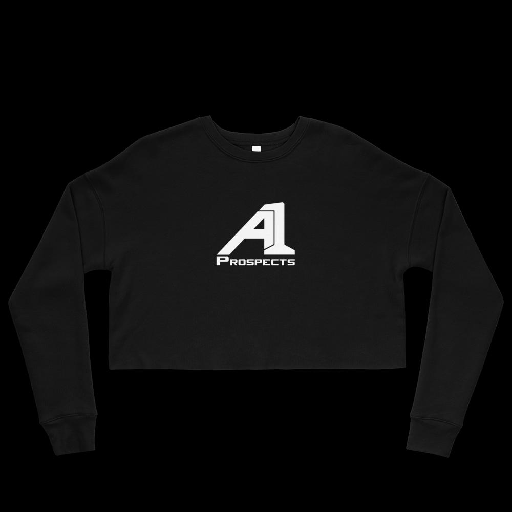 A1 Prospects Black Crop Sweatshirt