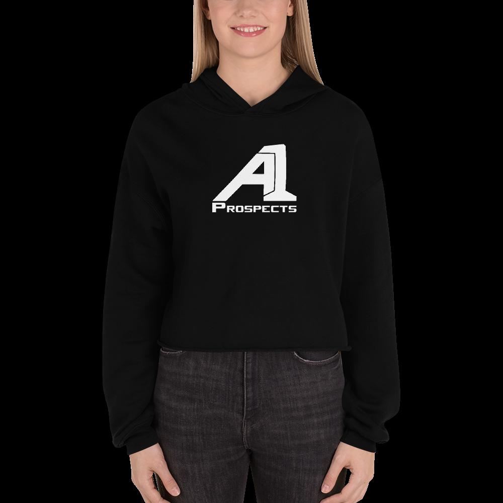 A1 Prospects Black Crop Hoodie