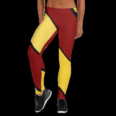 Red & Yellow Leggings