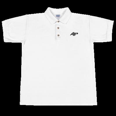 A1P Collared Shirt White