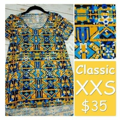CLASSIC XX-Small (XXS) LuLaRoe Tee Shirt fits 00-0