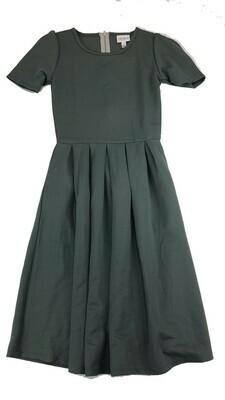 AMELIA Solid Gray XX-Small (XXS) LuLaRoe Womens Dress for sizes 00-0