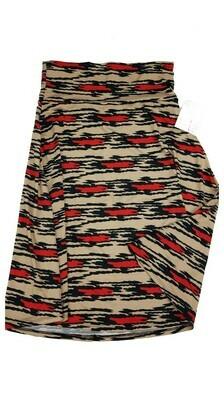 AZURE Medium (M) LuLaRoe Skirt fits 6-8