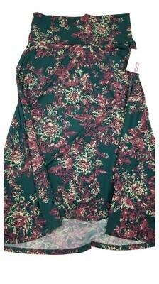 AZURE Small (S) LuLaRoe Skirt fits 2-4