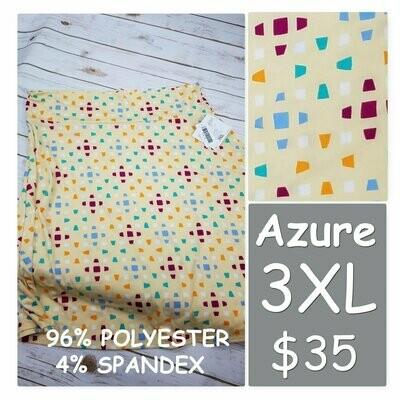 AZURE XXX-Large (3XL) LuLaRoe Skirt fits 22-24