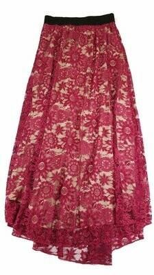 LuLaRoe Lucy X-Small (XS) Floor Length Women's Skirt fits Sizes 0-2