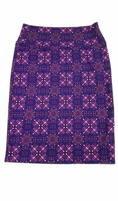 Cassie Large (L) LuLaRoe Womens Knee Length Pencil Skirt fits 14-15