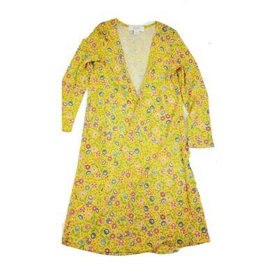 Kids Sariah LuLaRoe Sweater Knit Cardigan Size 6 fits kids 5-6
