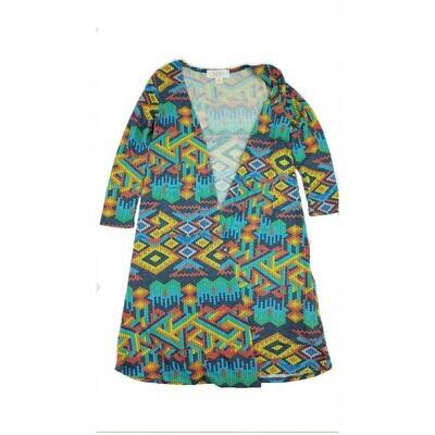 Kids Sariah LuLaRoe Sweater Knit Cardigan Size 4 fits kids 3-4
