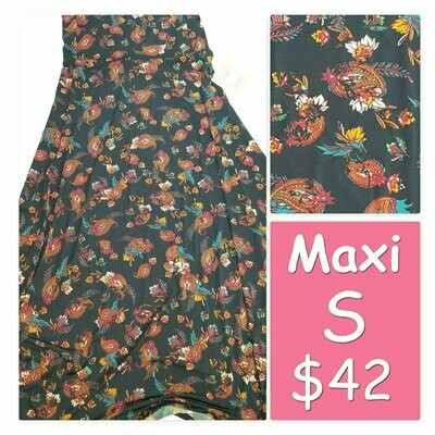 MAXI Small (S) LuLaRoe Womens A-Line Skirt fits 6-8