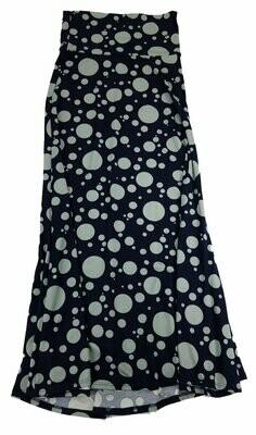 MAXI X-Small (XS) LuLaRoe Womens A-Line Skirt fits 2-4