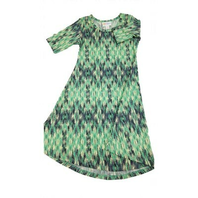 Kids Adeline LuLaRoe Swing Dress Size 6 fits kids 5-6