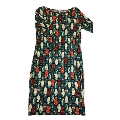 JULIA Large L Disney Jack Skellington Oogie Boogie from A Nightmare Before Christmas Coffin Geometric Shape Form Fitting Dress fits sizes 12-14