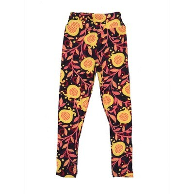 LuLaRoe Kids Small-Medium Floral Leggings ( S/M fits kids 2-8 ) SM-1003-L