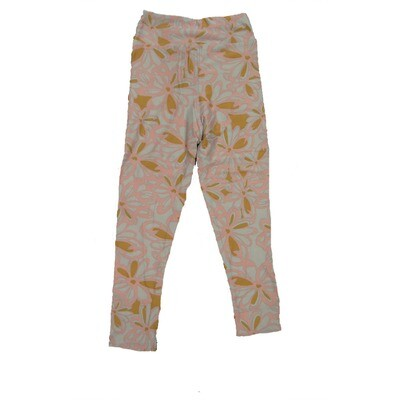 LuLaRoe Kids Small-Medium Floral Leggings ( S/M fits kids 2-8 ) SM-1007-G