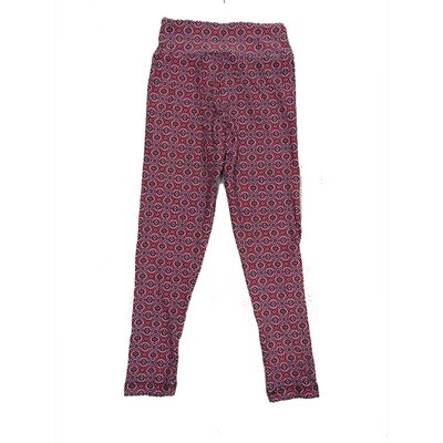 LuLaRoe Kids Small-Medium Geometric Polka Dot Leggings ( S/M fits kids 2-8 ) SM-1003-E