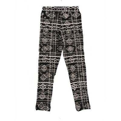 LuLaRoe Kids Small-Medium Geometric Stripe Leggings ( S/M fits kids 2-8 ) SM-1003-C